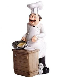 9.1 Inch Pancaking Chef Figurine Gourmet Bread Accents fo... https://www.amazon.com/dp/B071NCTGML/ref=cm_sw_r_pi_awdb_x_F0hIzbNYAJW7B