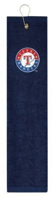 McArthur Sports MLB Embroidered Tri-Fold Golf Towel - Texas Rangers
