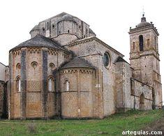Cabecera de la iglesia del Monasterio de Irache, Navarra, desde el noreste