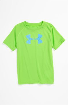 Under Armour Neon Logo T-Shirt (Infant) | Nordstrom
