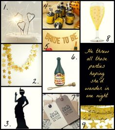 Great Gatsby Hen Party Decorations