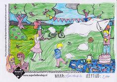 Kleurplaat bellenblaas - winnaar september 2015 gratis download van www.superbellenshop.nl Peanuts Comics, September, Art, Art Background, Kunst, Performing Arts, Art Education Resources, Artworks