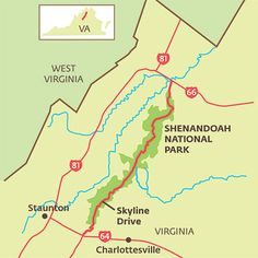 Make Plans to Visit - Shenandoah National Park Hiking and Cabins - Southern Living