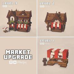Plans Minecraft, Minecraft Farm, Minecraft Cottage, Minecraft House Tutorials, Minecraft Castle, Cute Minecraft Houses, Minecraft House Designs, Minecraft Construction, Amazing Minecraft
