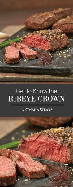 get to know the ribeye crown steak
