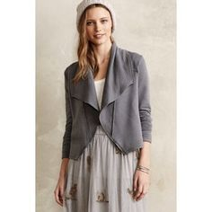 Anthropologie Lea Cropped Knit Cardigan Jacket by Dolan M $88 NWT #Anthropologie #CroppedCardiganJacket