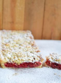 Himbeer Crumble Tarte Lecker Bakery 01/2014 #recipe #cake #tarte #crumble #raspberry