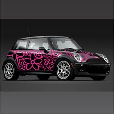 Awesome blossom vinyl stickers and decals custom made for your vehicle!