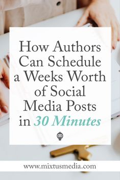 I'll show you how authors can save a ton of time scheduling posts on social media all while growing your audience and seeing bigger results. Book marketing strategies, book marketing tips, social media tips for authors, author marketing, book marketing ideas, social media strategies for authors, book publishing, creating content for authors