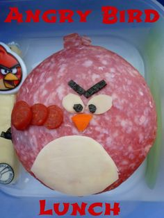 Mamabelly's Lunches With Love: Angry Bird Lunch