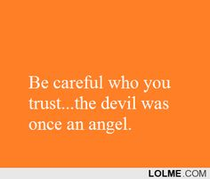 Satan is a lier