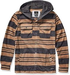 Enjoy exclusive for Quiksilver Men's Surf Days Hood online - Buytopbrands Dress Shirts For Women, Casual Shirts For Men, Men Casual, Trench Coat Men, Winter Shirts, Long Parka, Surf Outfit, Casual Blazer, Surf Clothes