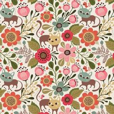 Helen Dardik. Patterns primaverales   Cherry Blog