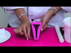 Fondant High Heel Shoe Demo - YouTube