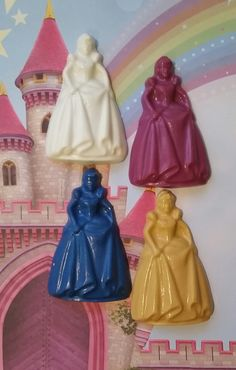 Princess Crayons Great For Gifts And Party by KrazyKoolKrayons