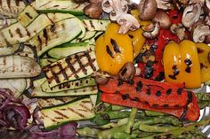 Kosher Cooking Blog- Kim Kushner Cuisine: Grilled Vegetables- Kosher for Passover