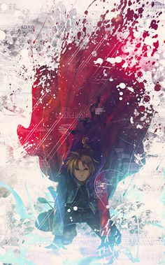 Fullmetal Alchemist Brotherhood - EDWARD ELRIC by Say0chi.deviantart.com on @DeviantArt