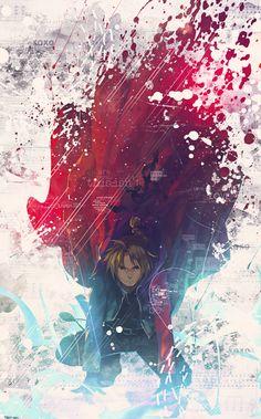 Fullmetal Alchemist Brotherhood - EDWARD ELRIC by Say0chi.deviantart.com on @DeviantArt