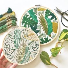 Marbled Embroidery Pattern. Digital Download PDF. Marbled Art. | Etsy Embroidery Leaf, Japanese Embroidery, Hand Embroidery Stitches, Silk Ribbon Embroidery, Modern Embroidery, Hand Embroidery Designs, Cross Stitch Embroidery, Paper Embroidery, Machine Embroidery