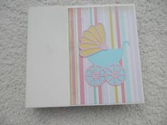 6x6 Baby Girl Scrapbook by SimplyMemories on Etsy
