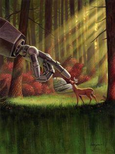 Jason Edmiston - Iron Giant Art