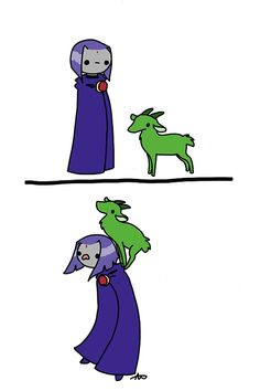 beast boy bothers raven