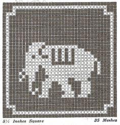 Many free Filet crochet patterns
