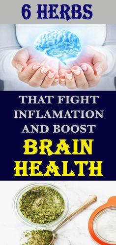 These Six Herbs Can Help You Fight Inflammation And Boost Brain Health weight loss weight loss program weight loss plan quick weight loss diet easy weight loss tips best weight loss workouts weight loss diet plan Natural Excema Remedies, Natural Hemroid Remedies, Rosacea Remedies, Natural Remedies For Migraines, Natural Beauty Remedies, Health Remedies, Herbalife, Quick Weight Loss Diet, Weight Loss Cleanse