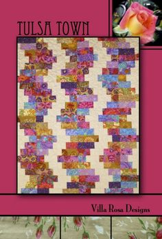 Tulsa+Town+Quilt+Pattern+from+Villa+Rosa+Designs+by+SewElegantly,+$2.00