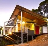 Eco-Friendly Tinbeerwah House Rises on Steel Stilts in the Australian Bush   Inhabitat - Sustainable Design Innovation, Eco Architecture, Green Building