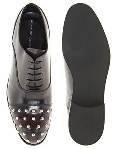Enlarge KG by Kurt Geiger Britton Studded Oxford Shoes