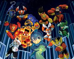 Be The Robot Master In The Mega Man Legacy Collection - Features - www.GameInformer.com