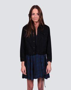 Throw On Denim Jacket Midi Skirt, Denim, Skirts, Jackets, Collection, Fashion, Down Jackets, Moda, La Mode