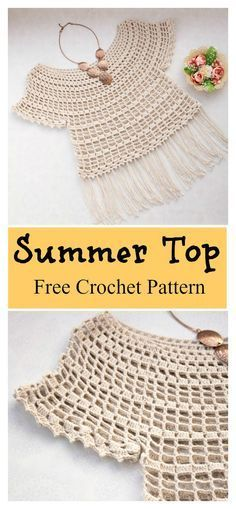 Modest Princess Summer Top Free Crochet Pattern #freecrochetpatterns #crochettop