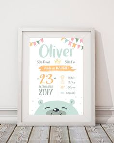 Birth Announcement With Dog Friends Homemade Printer Printing Referral: 7219647486 Newborn Pictures, Baby Pictures, Desenho Kids, Birth Horoscope, Baby Posters, Baby Frame, Birth Announcement Boy, Baby Birth, Newborn Gifts