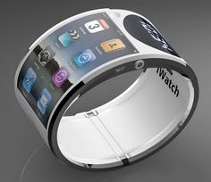 Could this be the future of wearable tech? #iWatch prototype