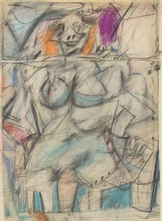 de Kooning » Seated Woman