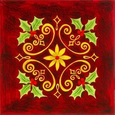 Classic Christmas -- by Elena Vladykina