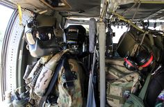 One of two load masters on board an Australian Army Blackhawk helicopter preparing for the G20 summit to be held in Brisbane in November 2014. Photo: ABC/Giulio Saggin.