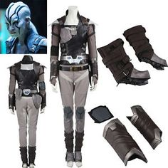 New Arrival Star Trek Beyond Jaylah Cosplay Costume Outfit Custom Size Hallowmas