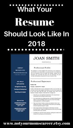 Resume Cover Letter Template 2018 Updating Your Resume For 2018 Do These Five Things First  Career