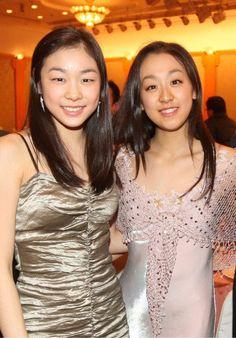 Yuna Kim , Mao Asada