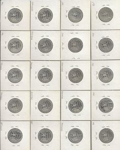 40 SILVER WASHINGTON QUARTERS by COLLECTORSCENTER on Etsy