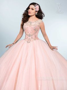 Mary's Bridal Princess Collection Quinceanera Dress Style 4Q434
