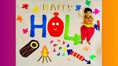 Holi Theme, Crayon Art, Baby Milestones, Baby Boy Newborn, Baby Month By Month, Photo Poses, Photoshoot Ideas, Newborn Photography, Babies