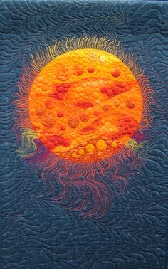 createcreatively: Rising Sun by Sheena J. Norquay