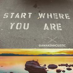 #mindfulmonday #awakenholistic #awakenhour #beginnings #mindful