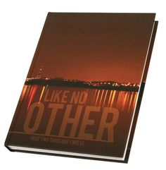 Benicia High School yearbook cover (the city of portland? who knows this is just pretty)