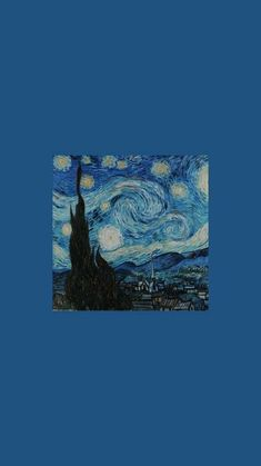 Cartoon Wallpaper, Wallpaper Pastel, Van Gogh Wallpaper, Mood Wallpaper, Aesthetic Pastel Wallpaper, Painting Wallpaper, Blue Wallpapers, Cute Wallpaper Backgrounds, Tumblr Wallpaper