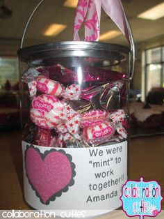Collaboration Cuties: Sweet gift for coworkers:) Pardon the pun.